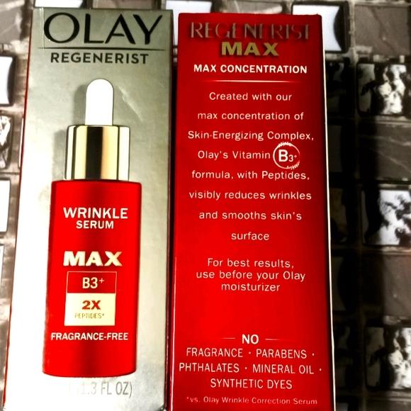 Olay Regenerist Wrinkle Serum Max B3 2x